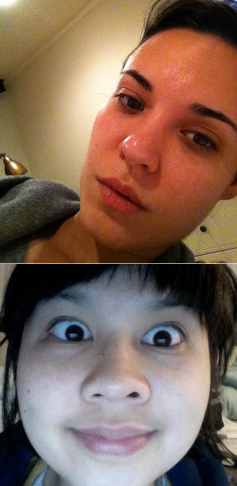 Odette Annable e Charlyne Yi (Foto: .)