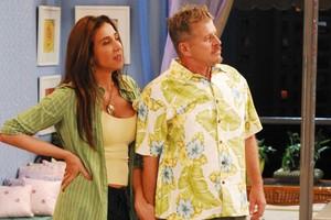 Rita (Marisa Orth) e Mrio Jorge ( Miguel Falabela) (Foto: CEDOC/ TV GLOBO)