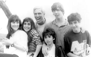 Gaspar e os filhos (Foto: CEDOC/TV Globo)