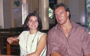 Ana (Cássia Kis Magro) e Dudu (Paulo César Grande) (Foto: CEDOC/TV Globo)