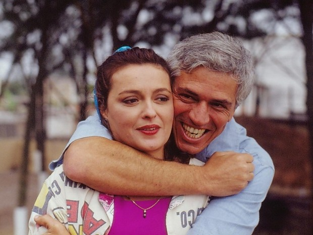 Gaspar (Nuno Leal Maia) e Marisa (Maria Zilda Bethlem)  (Foto: CEDOC/TV Globo)