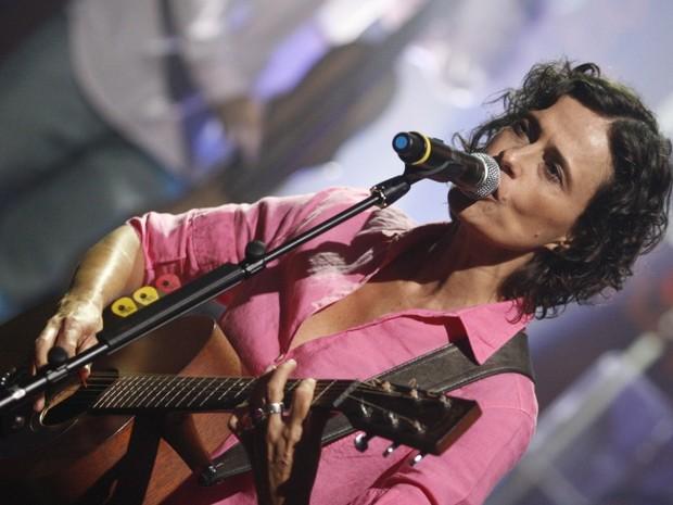 Som Brasil - Zélia Duncan  (Foto: CEDOC/ TV GLOBO)