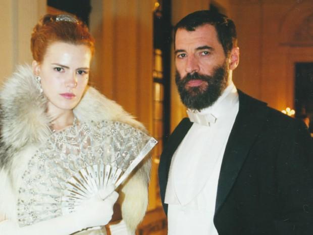 Ana Paula Arsio e Paulo Betti (Foto: TV Globo)