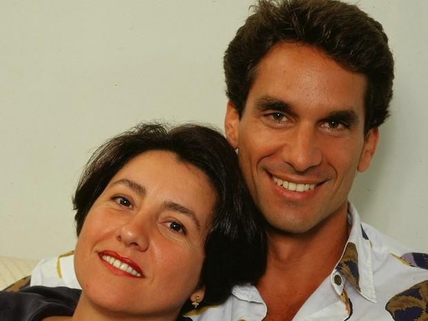 Barriga de Aluguel - Cassia Kis e Vitor Fasano  (Foto: CEDOC/ TV GLOBO)