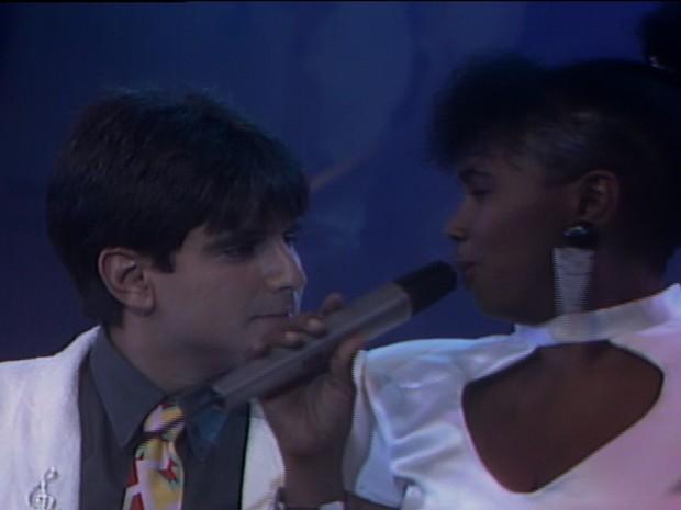 Biafra e Sandra de S (Foto: TV Globo)