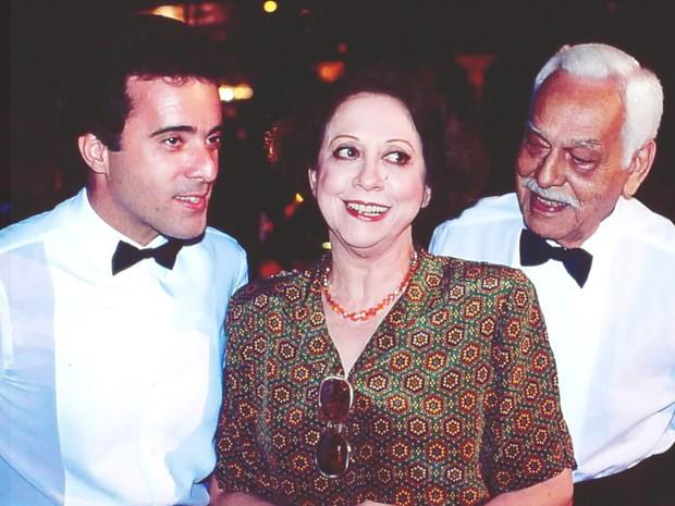 Edu (Tony Ramos), Salomé (Fernanda Montenegro) e Betinho (Paulo Gracindo)  (Foto: CEDOC/ TV GLOBO)
