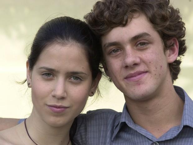 Zezinho (Leonardo Miggiorin) e Anita (Mel Lisboa) (Foto: Cristiane Isidoro / TV Globo)