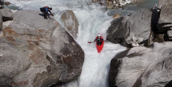 Rio Modi Khola, Em Birethanti, Nepal