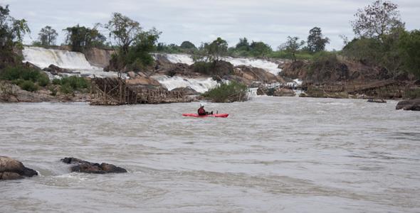 Rio Mekong, Laos.