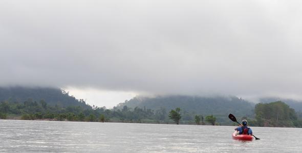 Rio Mekong, Laos