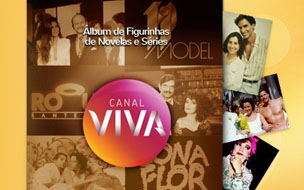 Álbum de figurinhas do Viva (Foto: canal Viva)