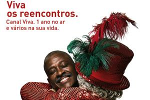 Campanha aniversário de 1 ano (Foto: canal Viva)