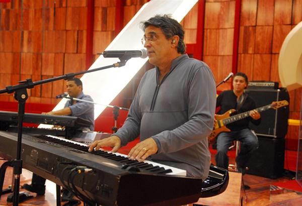 Ivan Lins no Som Brasil (Foto: TV Globo)
