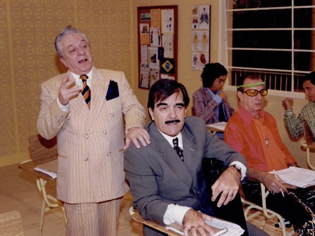 Rolando Lero (Rogrio Cardoso) e Pedro Pedreira (Francisco Milani) (Foto: CEDOC/ TV GLOBO)