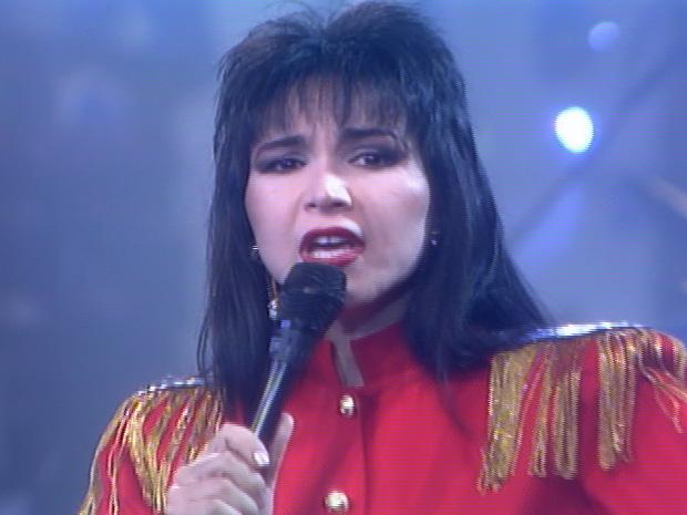Rosana canta sucessos no Globo de Ouro (Foto: TV GLOBO)