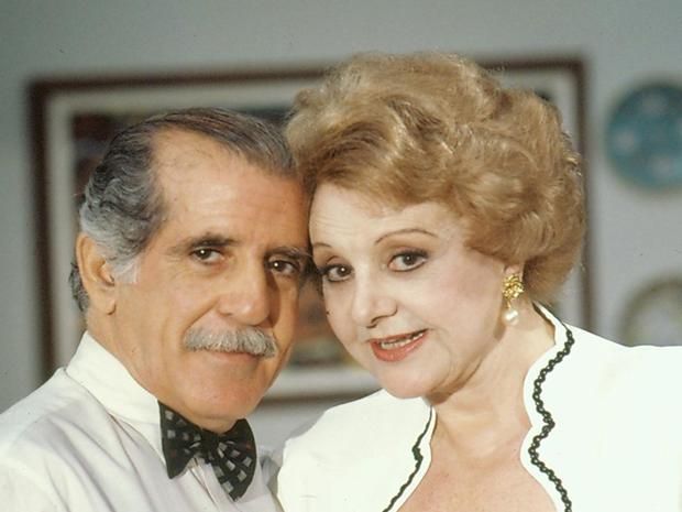 Silas (Luiz Carlos Arutim) e Morgana (Eva Tudor) (Foto: CEDOC/ TV GLOBO)