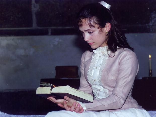 Gabriela Duarte como Chiquinha Gonzaga jovem (Foto: TV Globo)