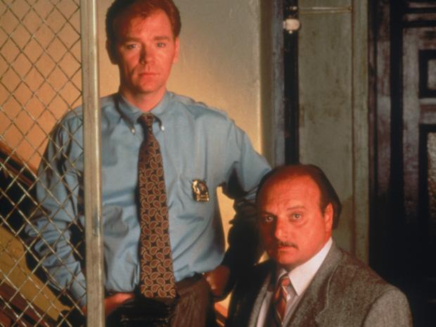 John Kelly (David Caruso) e Andy Sipowicz (Dennis Franz) (Foto: divulgao/FOX)