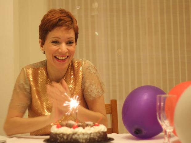 Patricia Marx comemora aniversário  (Foto: Arquivo Pessoal)