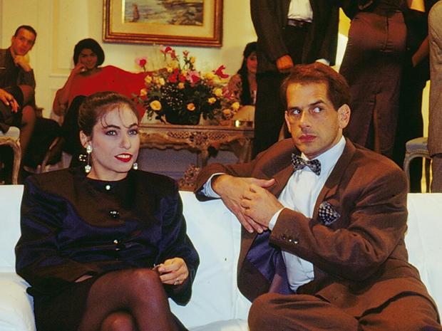 Rose (Cissa Guimarães) e Marvin Gaye (Miguel Magno) (Foto: CEDOC/ TV GLOBO)