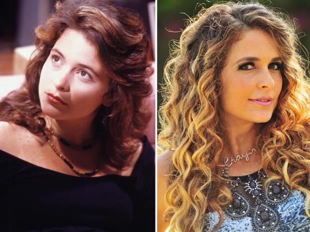 Claudia Abreu em 'Barriga de Aluguel' e na novela 'Cheias de Charme' (Foto: TV Globo / Joo Miguel Jnior)