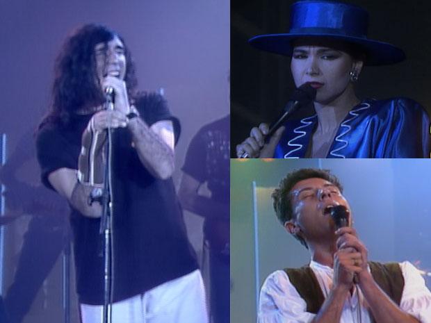 Sucessos do Globo de Ouro não podem faltar na sua playlist especial dos anos 1980 (Foto: Reprodução / TV Globo)