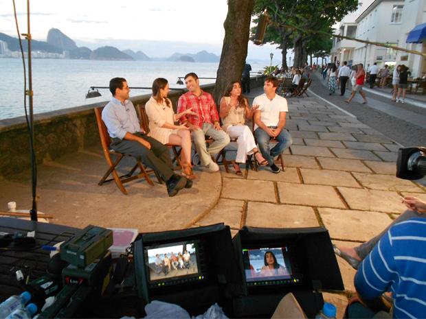 Reviva reuniu todos os filhos do Gaspar Kundera para entrevista (Foto: Viva)