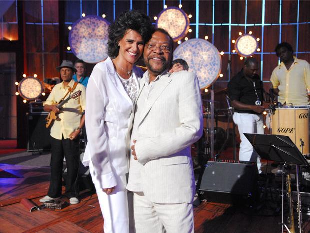 Simone e Martinho da Vila (Foto: TV Globo / Renato Rocha Miranda)