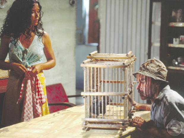 Tereza Seiblitz e Osmar Prado (Foto: CEDOC/ TV GLOBO)
