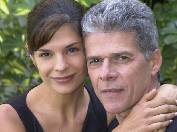 Helena Ranaldi e José Mayer em
