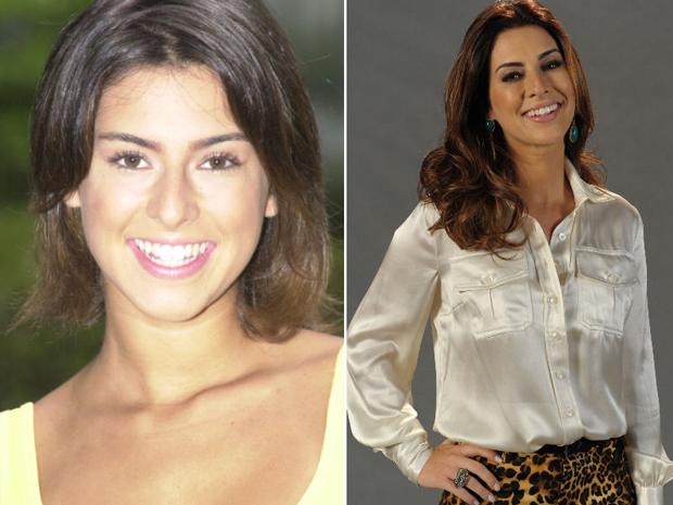 Fernanda Paes Leme começou sua carreira no seriado 'Sandy & Junior' (Foto: João Cotta / TV Globo)