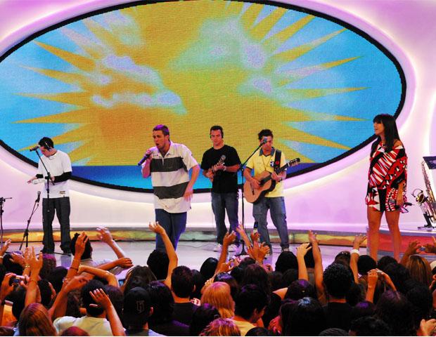 Jeito Moleque e Ivete Sangalo (Foto: CEDOC/TV Globo)
