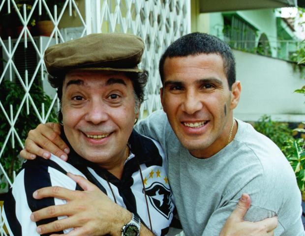 Pedro Paulo Rangel e Eri Johnson (Foto: CEDOC/TV Globo)
