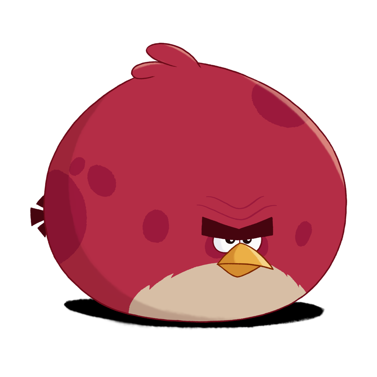 angry birds go terence - photo #3