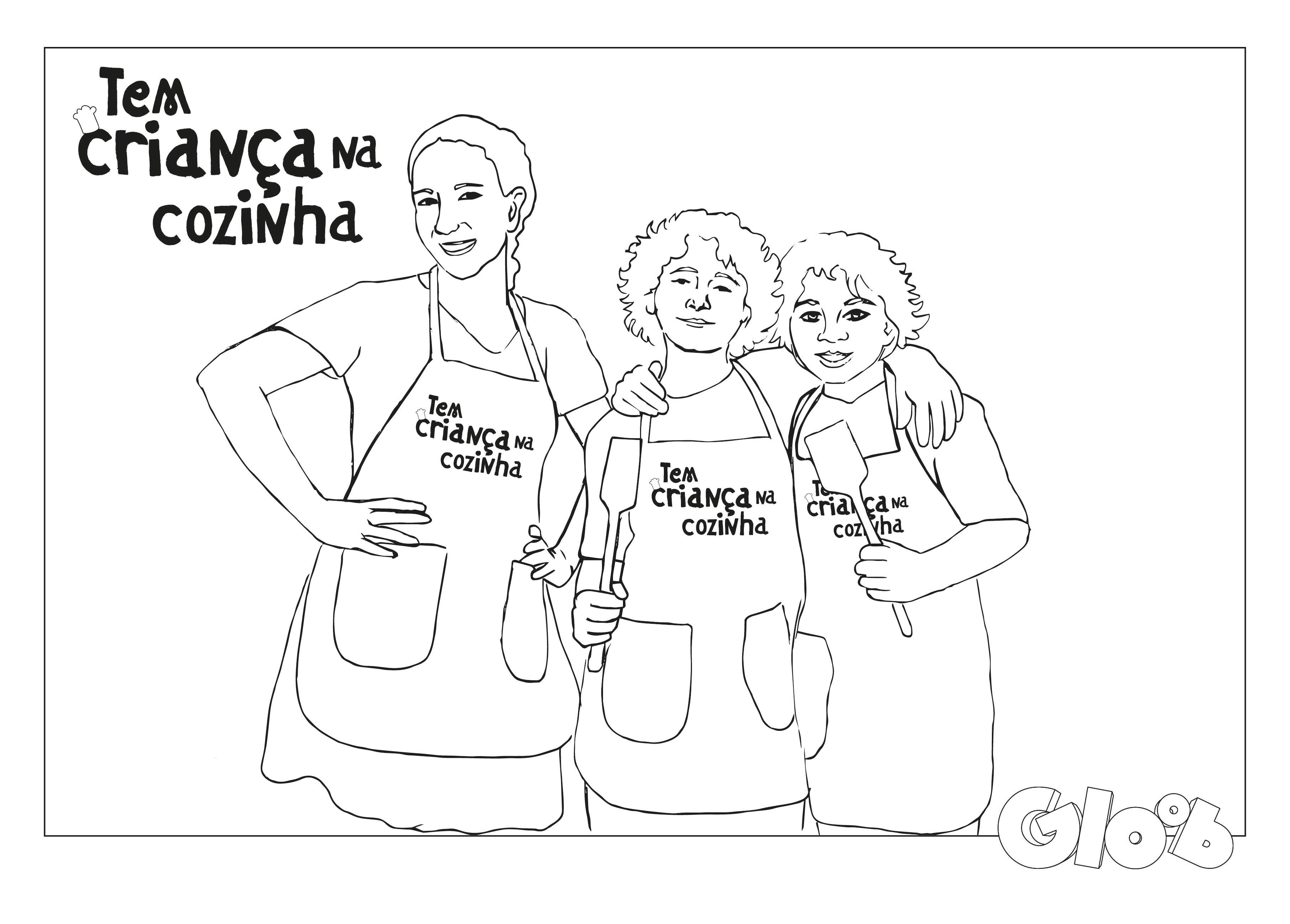 Talheres e Chefs Atividades Tem Criança na Cozinha Mundo Gloob #242422 3626 2598