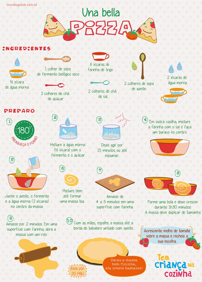 Receita: Una Bella Pizza