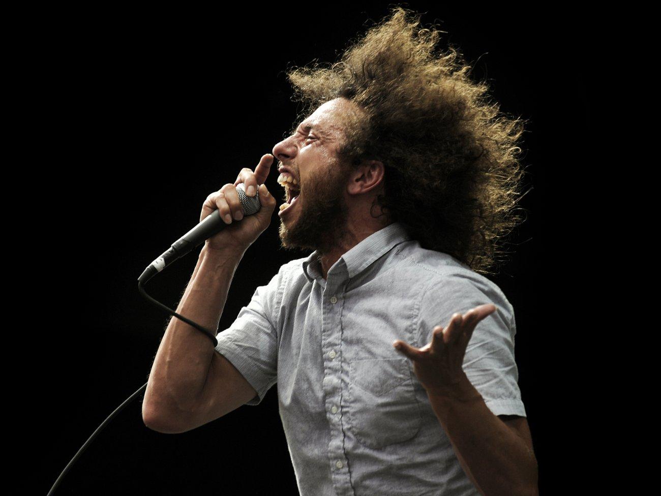 Zack de la Rocha, do Rage Against The Machine, lança