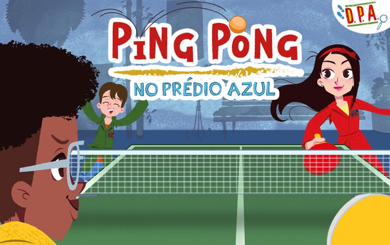 Ping Pong no Prédio Azul