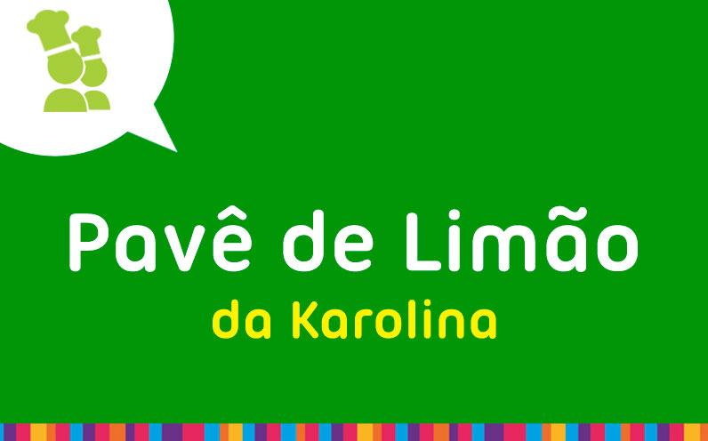 Pavê de Limão da Karolina
