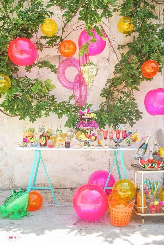 Como organizar uma festa tropical ver o multishow for Pool party daily show