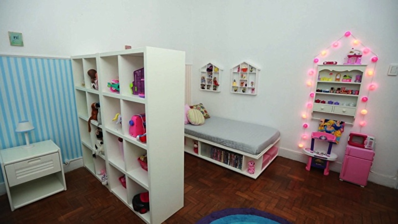 Veja dicas para organizar um quarto para acomodar um adulto e uma criança  S