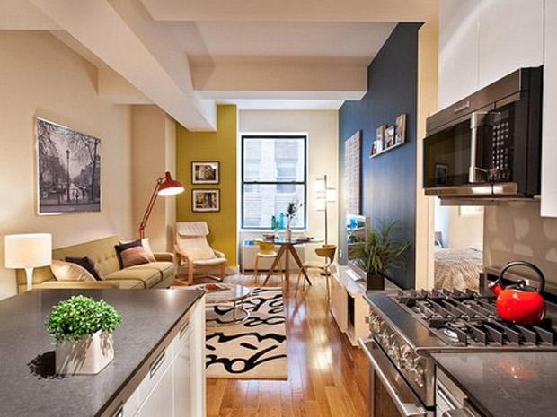 Apartamento pequeno conquiste espa o e estilo com for Ver apartamentos pequenos