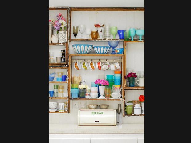 Ideias de como organizar a cozinha sem arm rios casa gnt - Como organizar armarios ...