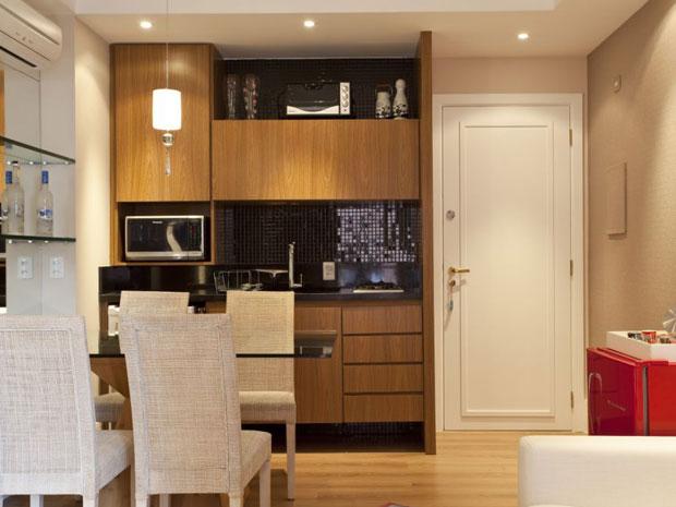 decoracao cozinha flat:Preto na decoração da cozinha: veja como usar – Casa – GNT