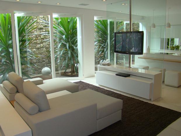 Sala Pequena Com Jardim De Inverno ~ Jardim de inverno aposte na decoração natural dentro de casa  Casa