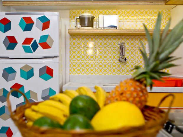 Saiba como decorar a cozinha pequena e ter espaço de sobra  Casa  GNT # Decorar Cozinha Gnt