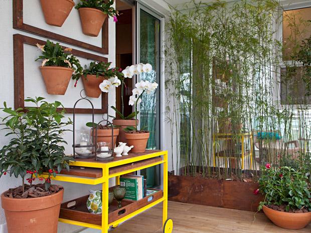 Dez ideias de decoraç u00e3o para dar charmeàs varandas pequenas Casa GNT