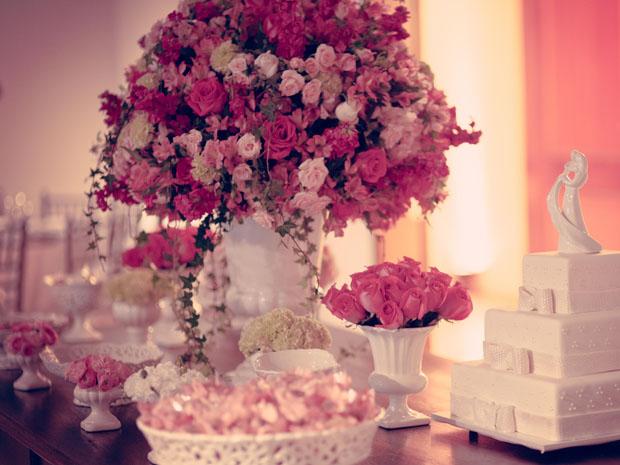 decoracao branca e dourada para casamento : decoracao branca e dourada para casamento:Conheça as cores em alta para as decorações de casamento em 2014