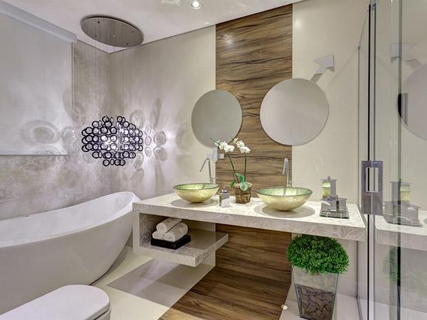 Por Pollyana de Moraes -> Banheiro Decorado De Casal