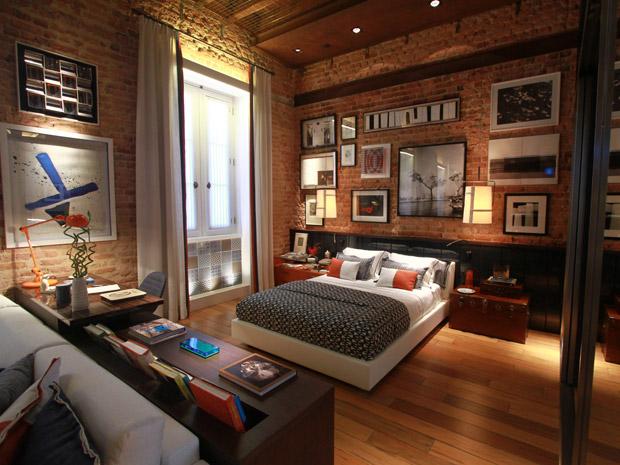O estilo do seu quarto veja seis inspira es para decorar casa gnt - Fotos de lofts decorados ...